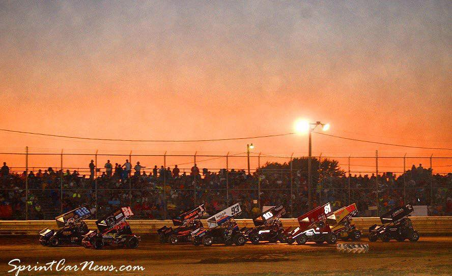 pic 8-4-16 sprints sunset